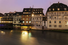 Petite-France architecture. Strasbourg, Alsace, France Royalty Free Stock Photo