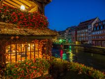 Petite France area in Strasbourg royalty free stock image