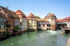 Petite France district. Strasbourg, France Royalty Free Stock Image