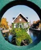 Petite France en la llegada del otoño fotos de archivo libres de regalías