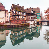 Petite France in the morning, Strasbourg, Alsace Royalty Free Stock Photography