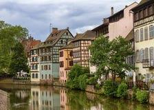 Petite France Strasbourg arkivbild