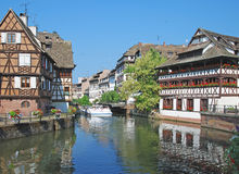 Petite France,Strasbourg,Alsace,France Stock Photos