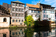 Petite France in Strasbourg Royalty Free Stock Photo