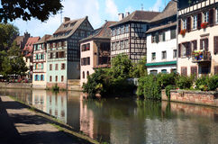 Petite France Strasbourg France, Alsace Stock Photography