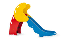 Petite glissière simple de terrain de jeu Photo stock