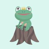 Petite grenouille mignonne Photographie stock libre de droits