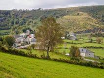 Petite hameau sur le Camino - Linares image libre de droits