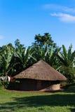 Petite hutte en Ethiopie Photos libres de droits