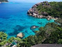 Petite lagune bleue Photographie stock libre de droits