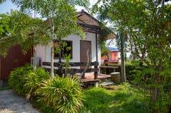 Petite maison dans la station de vacances de Khlong Preng chez Chachoengsao Thaïlande le 10 novembre 2015 Photo libre de droits