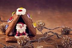 Petite maison de pain d'épice Photo stock