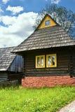 Petite maison en bois Photographie stock libre de droits
