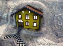 Petite maison en cristal photos stock