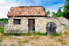 Petite maison historique ukrainienne images libres de droits