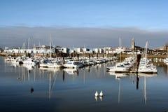 Petite marina Photos stock