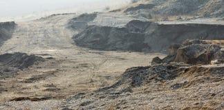 Petite mine vide Photo stock
