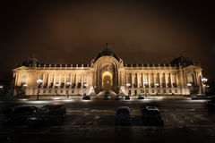 Petite palace in Paris, France stock images
