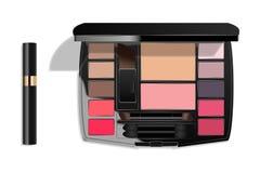 Petite palette de maquillage photographie stock