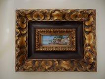 Petite peinture de Benares images stock