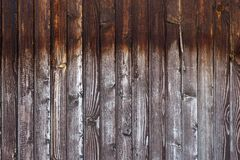 Petite pièce de vieille barrière en bois sale photos stock