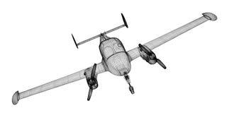 Petite Piper Airplane Image libre de droits