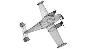 Petite Piper Airplane Images libres de droits