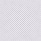Petite polka mauve-clair et blanche Dots Pattern Repeat Backgroun Photographie stock