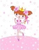Petite princesse illustration libre de droits
