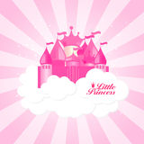 Petite princesse Background Vector Illustration Photo libre de droits