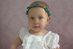 Petite princesse verticales photographie stock libre de droits