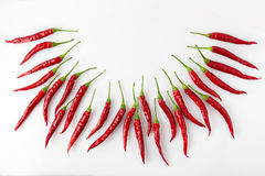 Petite red chili Stock Photo