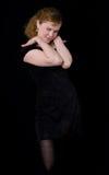 Petite robe noire Images libres de droits