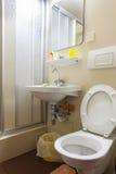 Petite salle de bains Photo libre de droits