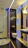Petite salle de bains Franco Camion 3 photos libres de droits