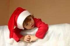 Petite Santa Photos stock