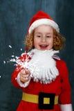 Petite Santa Images stock