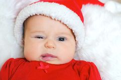 Petite Santa Photos libres de droits
