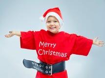 Petite Santa Photo libre de droits