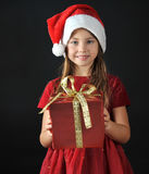 Petite Santa Photographie stock