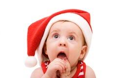 Petite Santa Photographie stock libre de droits