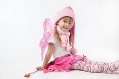 Petite Santa adorable Photo libre de droits