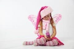 Petite Santa adorable Photos stock