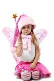 Petite Santa adorable Photographie stock libre de droits