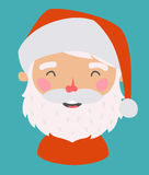 Petite Santa Avatar de vecteur Photo stock