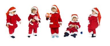 Petite Santa Klaus Photographie stock libre de droits