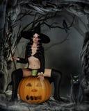 Petite sorcière Photos stock