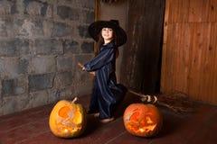 Petite sorcière Photo libre de droits