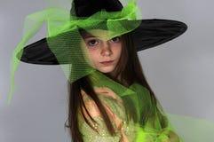 Petite sorcière photo stock