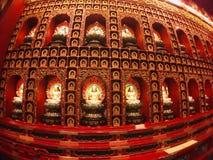 Petite statue de Bouddha image stock